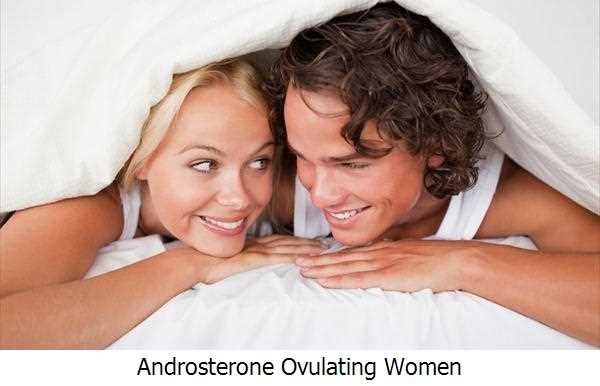 Androsterone Ovulating Women